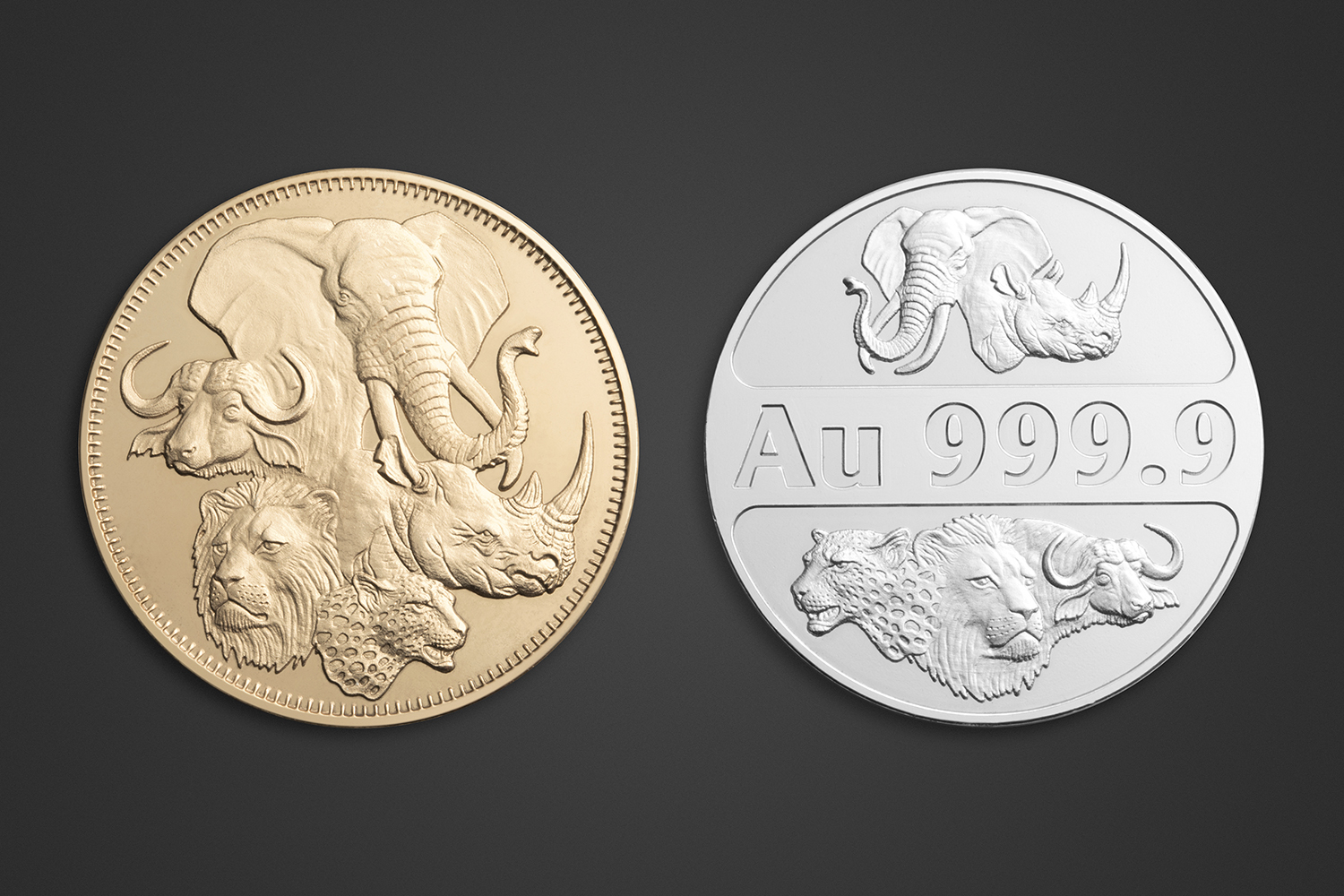 Product Photography - SRG Gold & Silver Coins